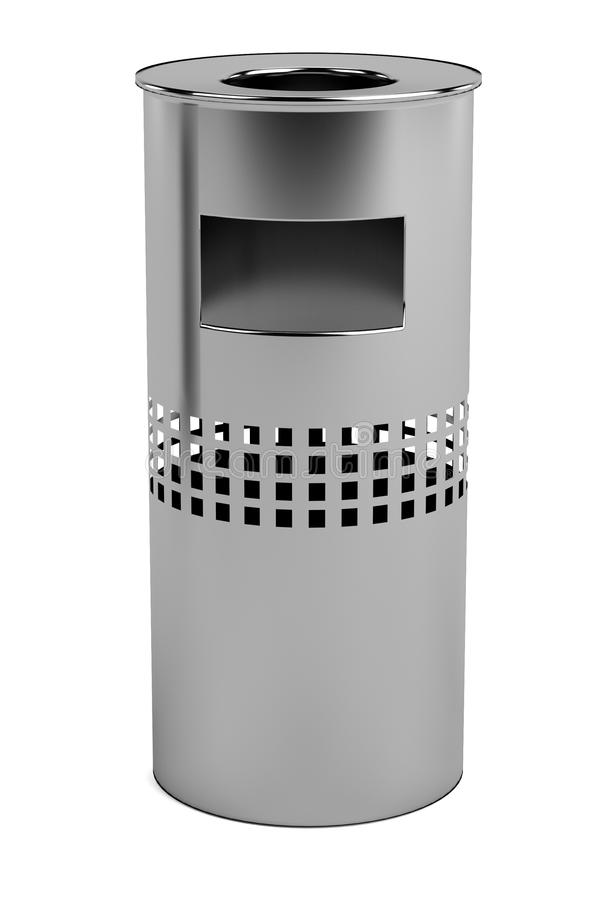 3d render of bin. Realistic 3d render of bin royalty free illustration
