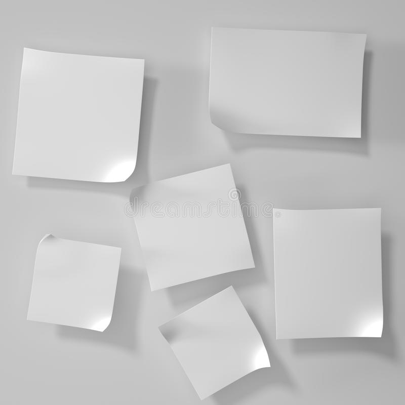 Download Post it note stock illustration. Image of label, organization - 30101134