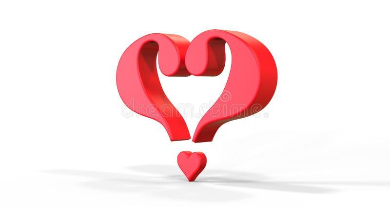 Find Love stock illustration