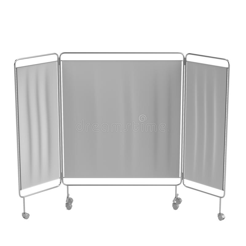 Download 3d Render Of Folding Screen Stock Illustration - Image: 39461069