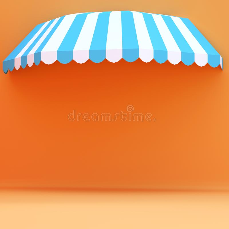 Background Red White Awning Stock Images Download 121