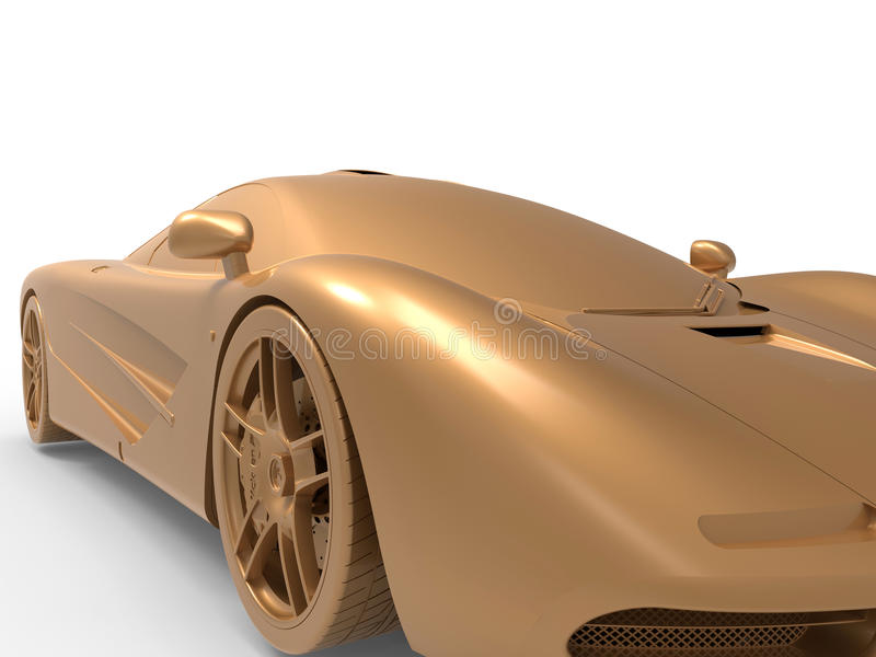 Original sport car design royalty free illustration