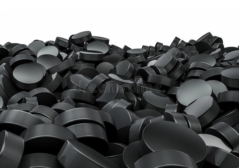 Download Hockey Pucks Pile Stock Images - Image: 29792834
