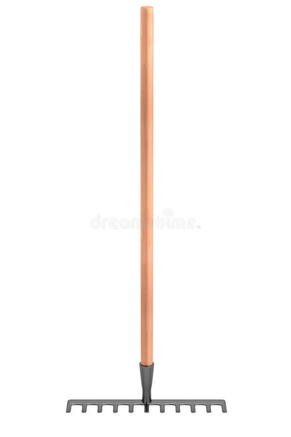 3d render of rake. Realistic 3d render of rake stock illustration