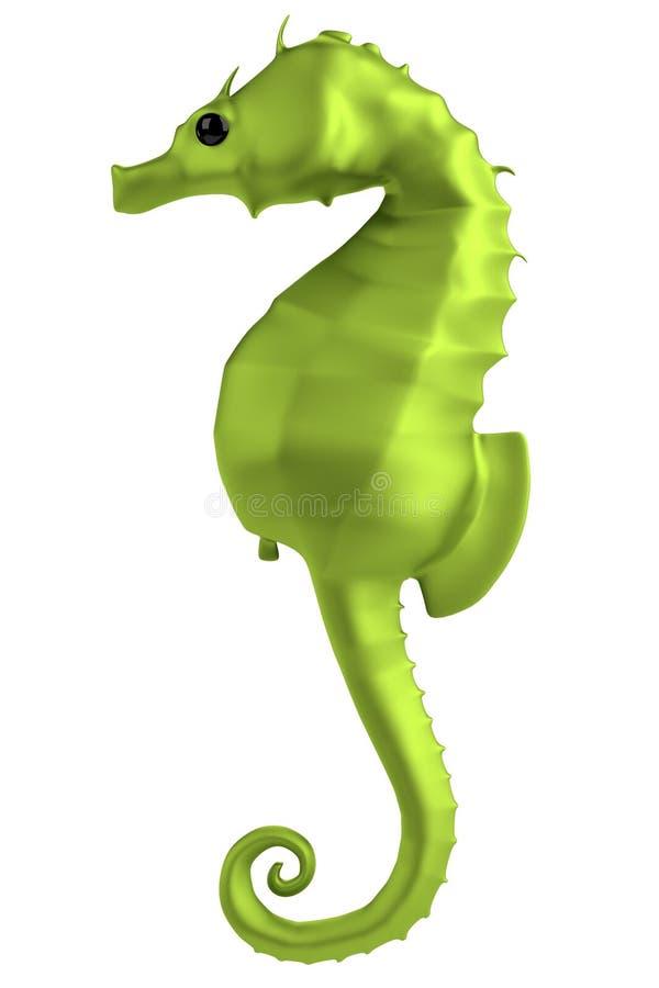 Download 3d render of seahorse stock illustration. Image of render - 40116508