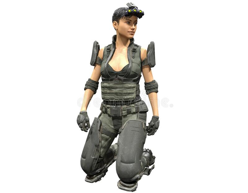 Sexy soldier female