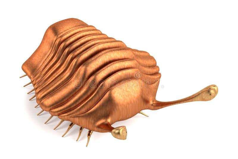 3d render of trilobite