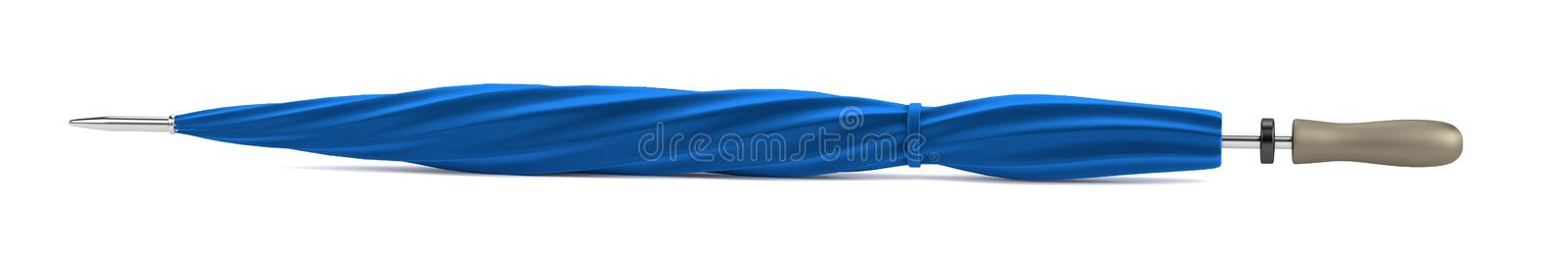 3d render of umbrella vector illustration