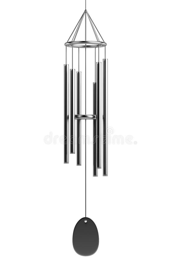 Download 3d render of wind chimes stock illustration. Image of chimes - 40116386