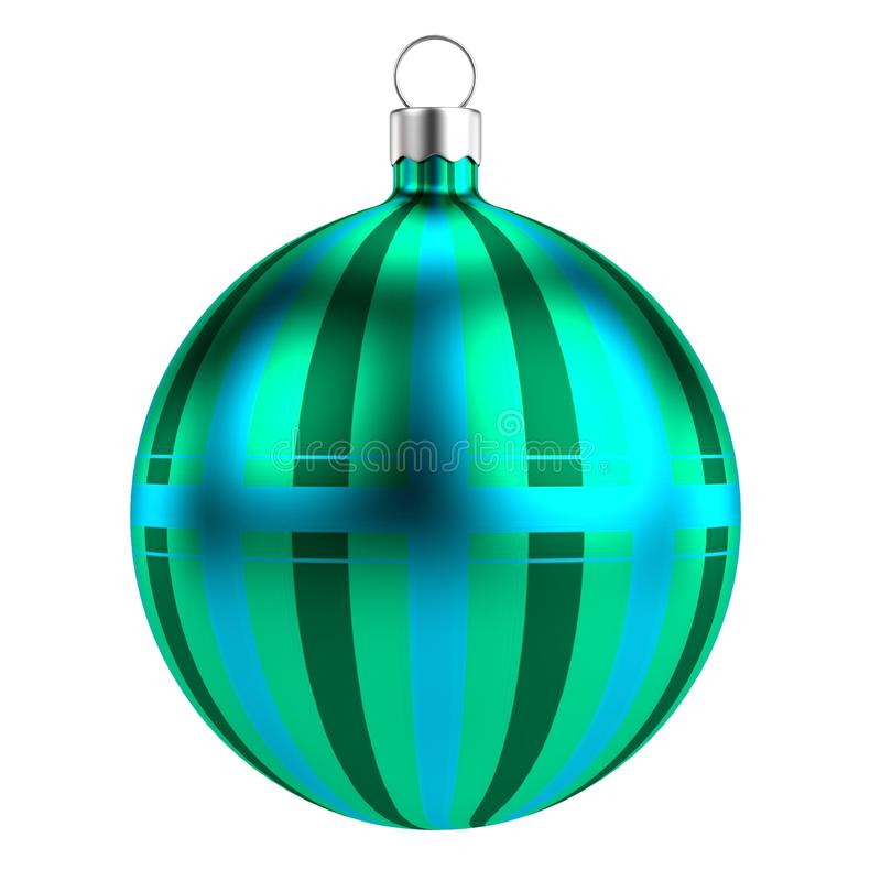Download 3d render of xmas ball stock illustration. Image of christmas - 40116398
