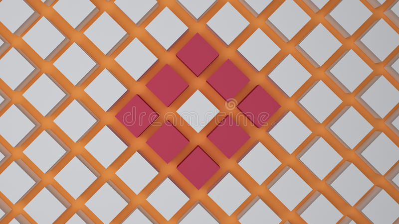 3d rendered background royalty free illustration