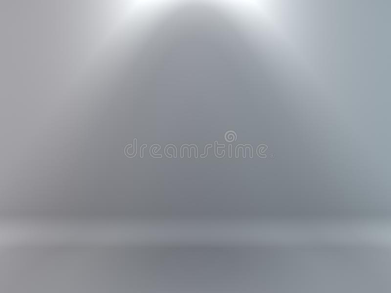 3D rendered background of light gold cubes in illuminated studio royalty free illustration