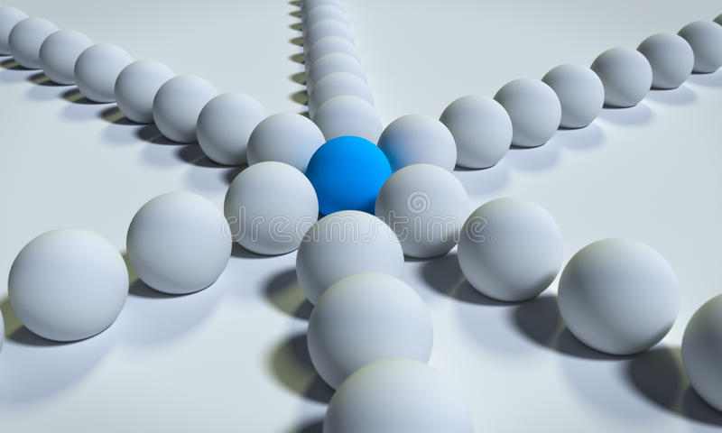 3d rendered balls vector illustration