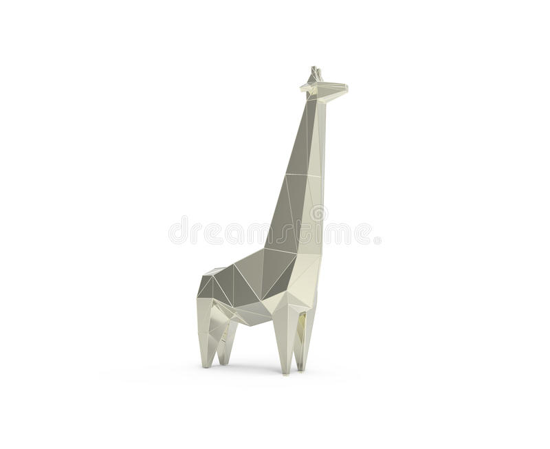 Download 3d Rendered Illustration Of Low Poly Giraffe Stock Illustration - Illustration of grass, concept: 83702663