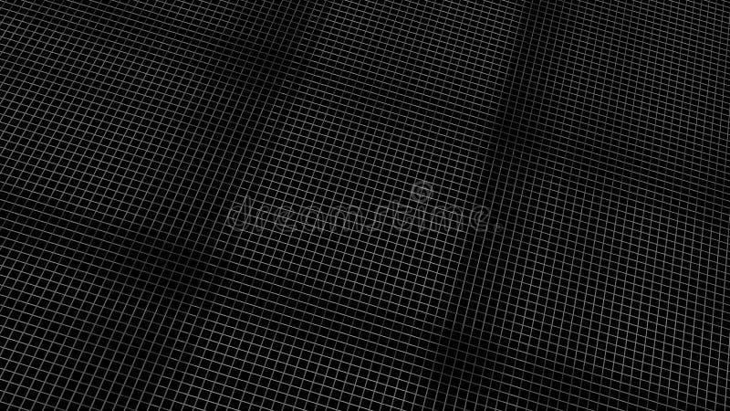 3d rendering abstrakcjonistyczny cyfrowy fractal wzór z ładnym kolorem obraz royalty free