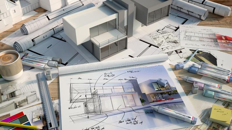 House designing vector illustration