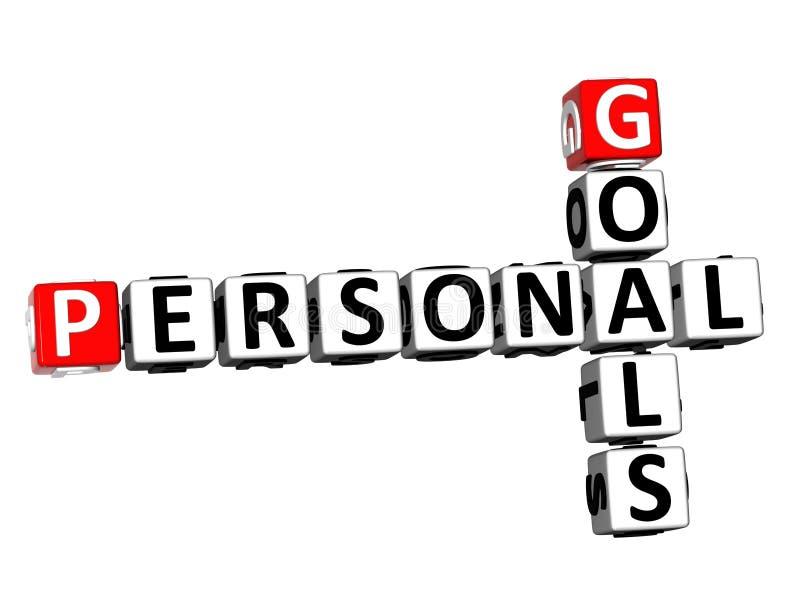 personal goals stock illustration  illustration of develop