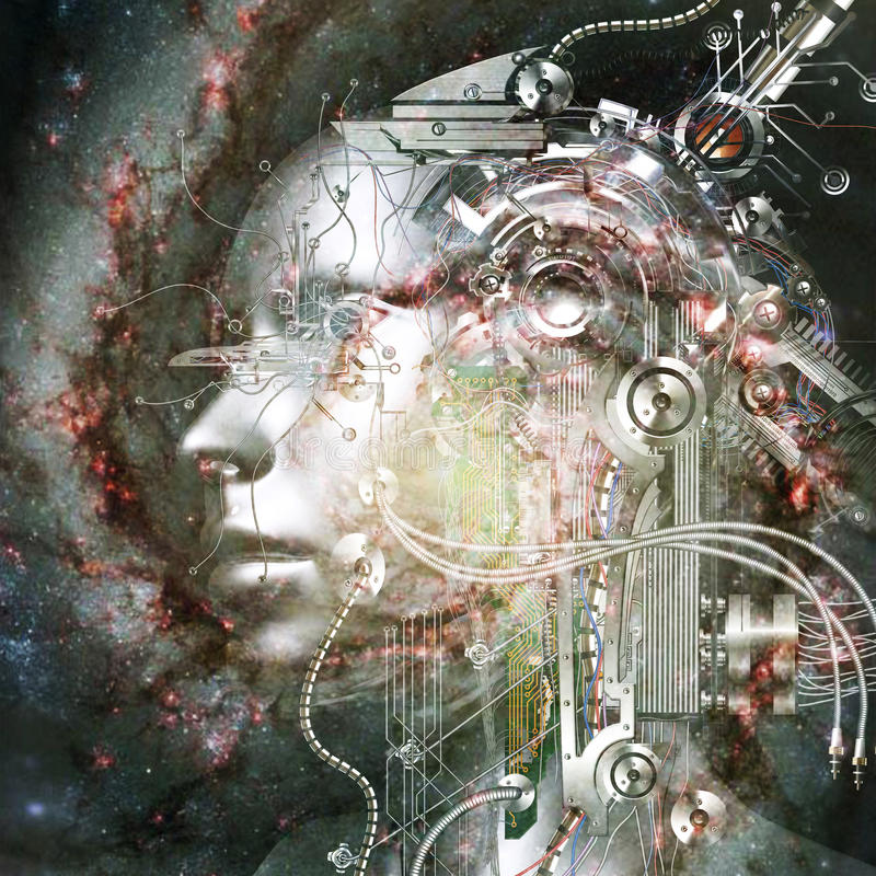 Download 3D Rendering Of A Cyborg - Elements By NASA Stock Illustration - Illustration: 91239302