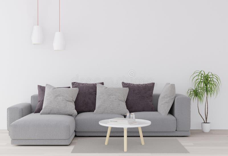 3D rendering, 3D ilustracja, egzamin próbny w górę plakata z rocznika modnisia minimalizmu pastelowego loft wewnętrznym tłem, dre ilustracji