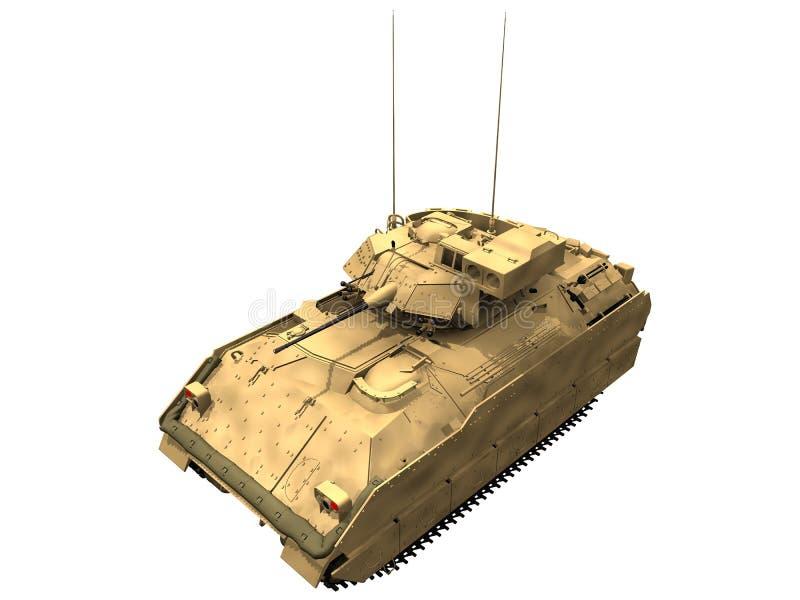 3d Rendering of a M2 Bradley stock illustration