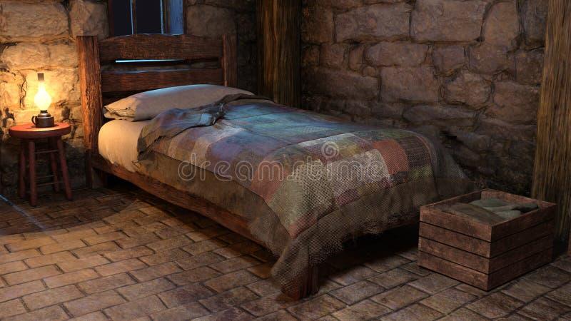 Fairytale Cottage Stock Illustration Illustration Of Stone 35866613