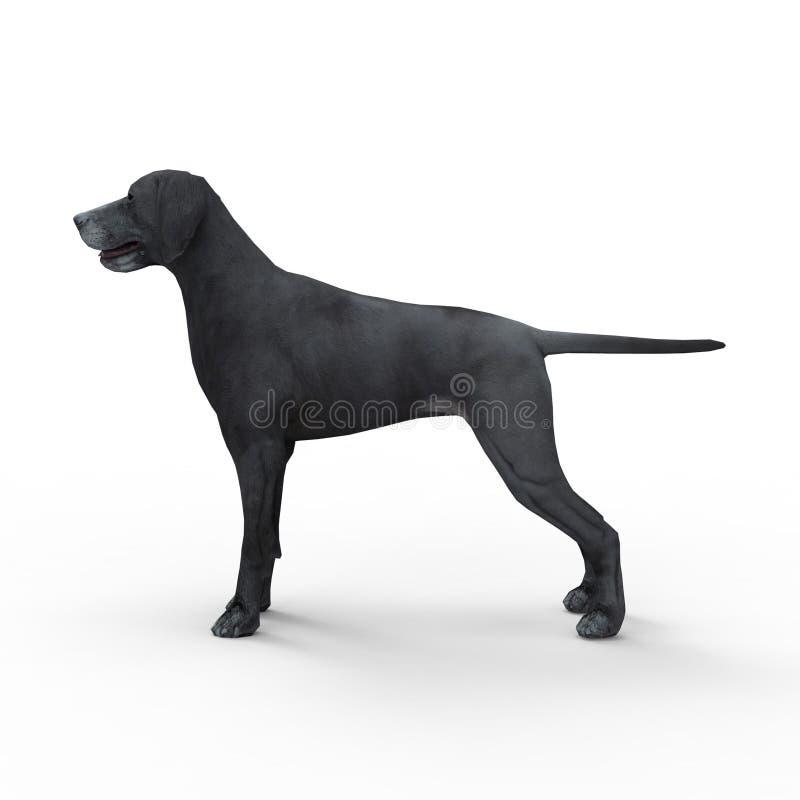 3d rendering pies tworzył używać blender narzędzie royalty ilustracja