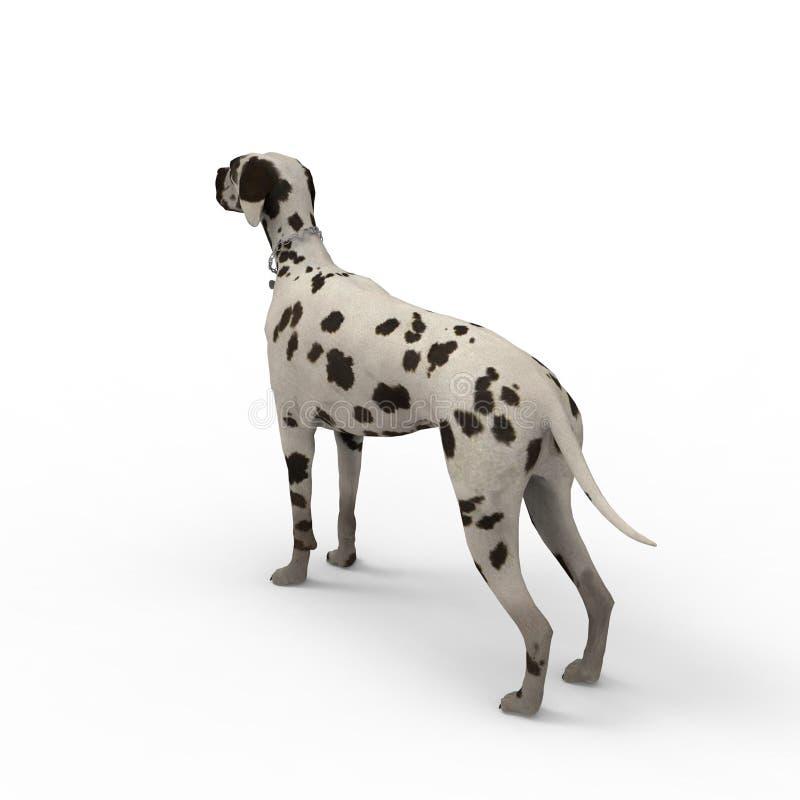 3d rendering pies tworzył używać blender narzędzie ilustracji