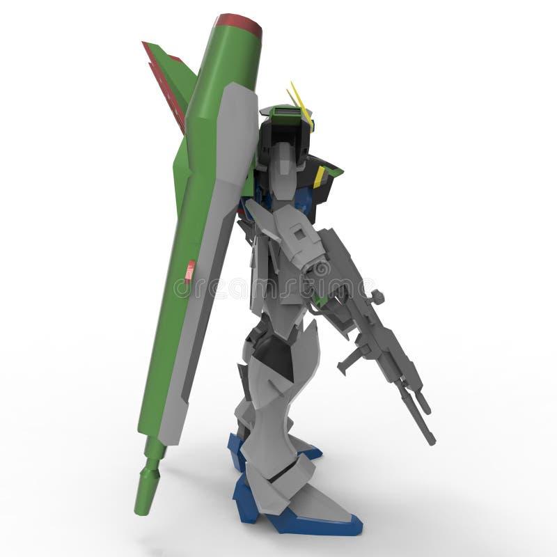 3d rendering roboty tworzy? u?ywa? blender narz?dzie ilustracji