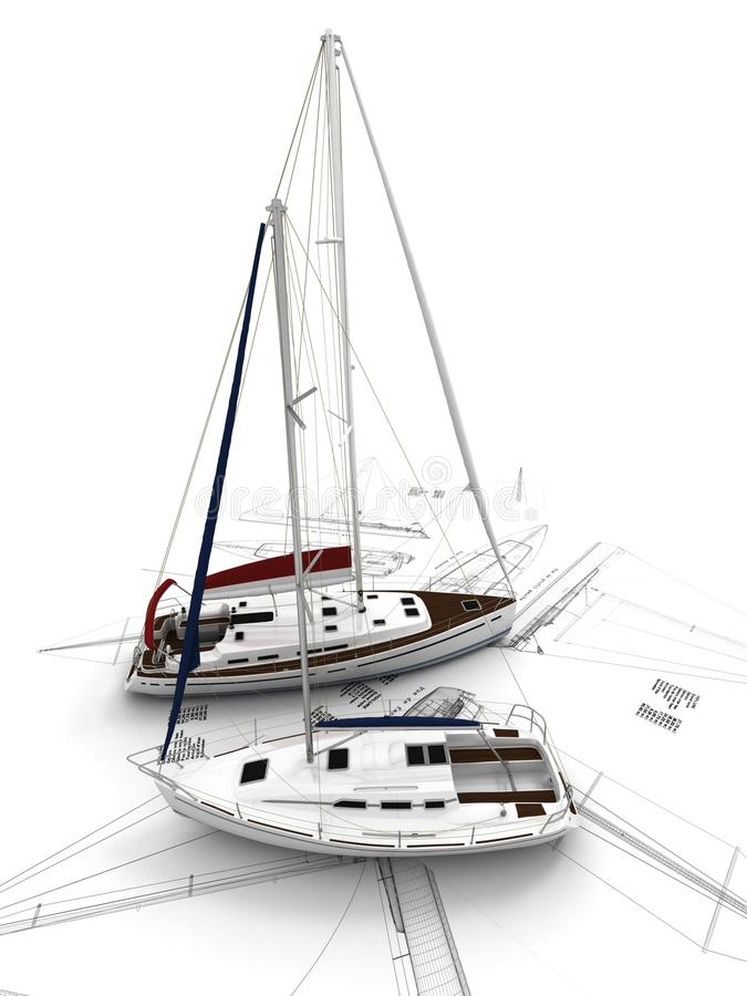 Sailboat design vector illustration