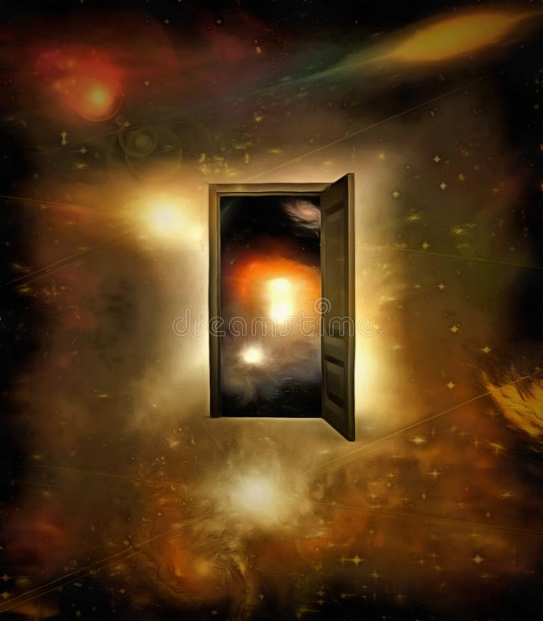 Download Door To Another Dimension Stock Image. Image Of Infinity    103731113