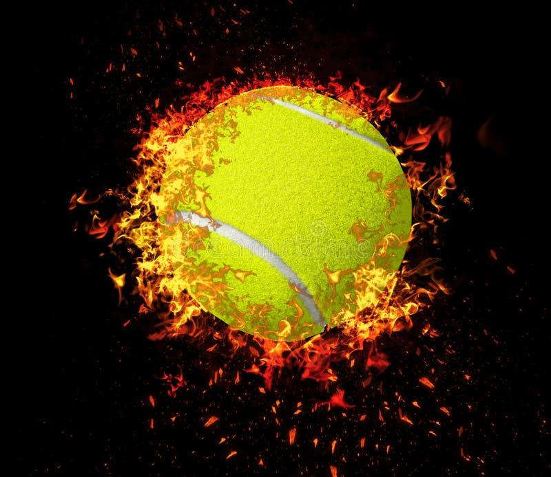 3D rendering, tenisowa pi?ka, zdjęcie stock