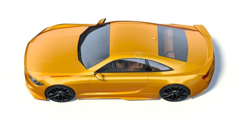 3D-renderingskoncept för bil vektor illustrationer