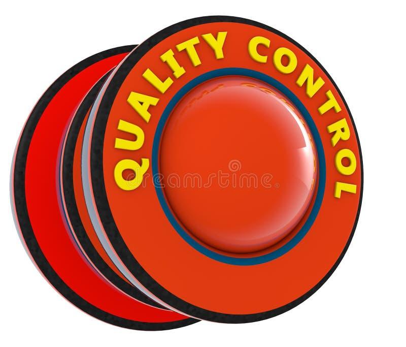 3d rendono Controllo di qualità illustrazione di stock