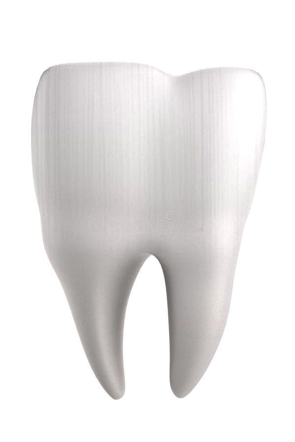 3d rendono del dente umano illustrazione di stock
