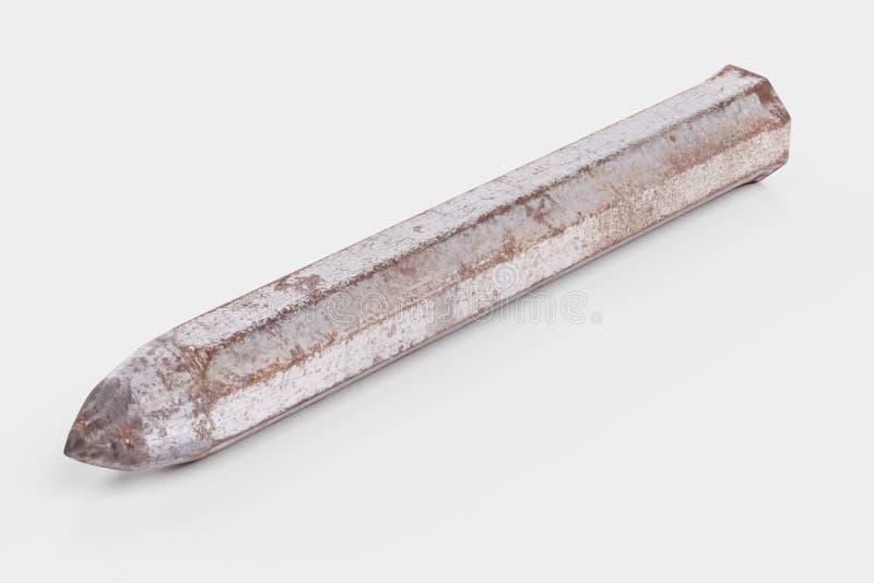 3d rendono dello strumento dello scalpellino illustrazione vettoriale
