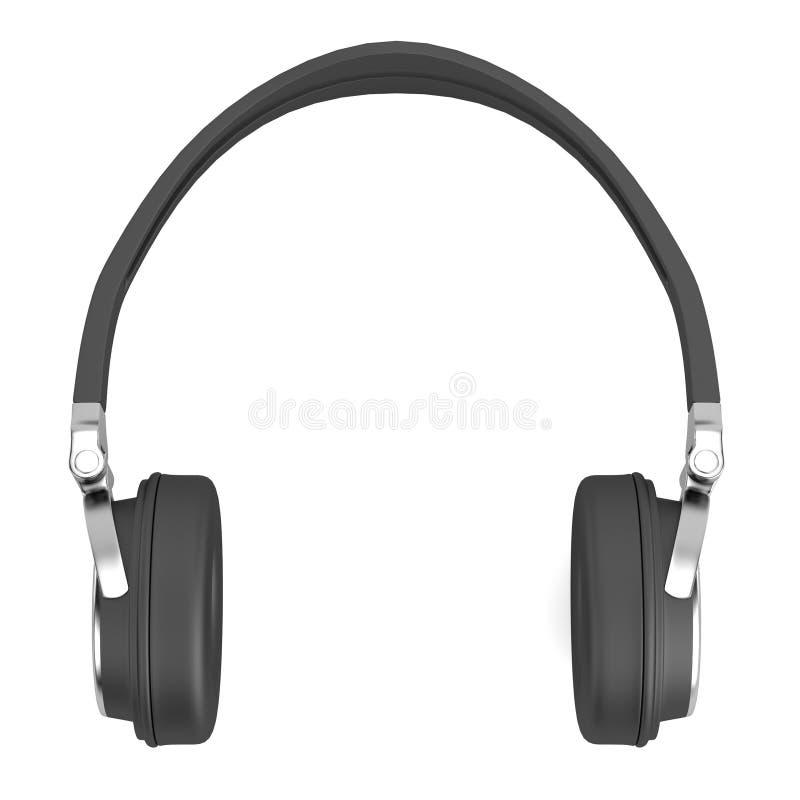 3d rinden de auriculares ilustración del vector
