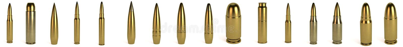 3d rinden de balas libre illustration