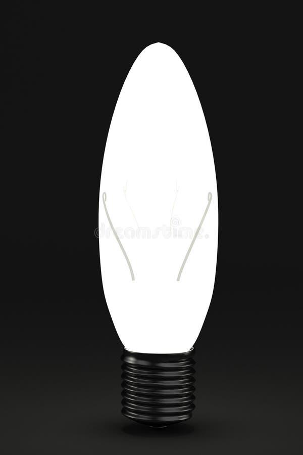3d rinden de bulbo ilustración del vector