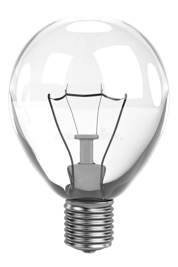 3d rinden de bulbo stock de ilustración
