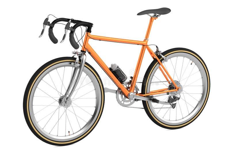 3d rinden de competir con la bicicleta libre illustration