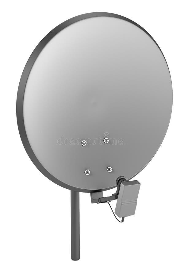 3d rinden de satelitte ilustración del vector