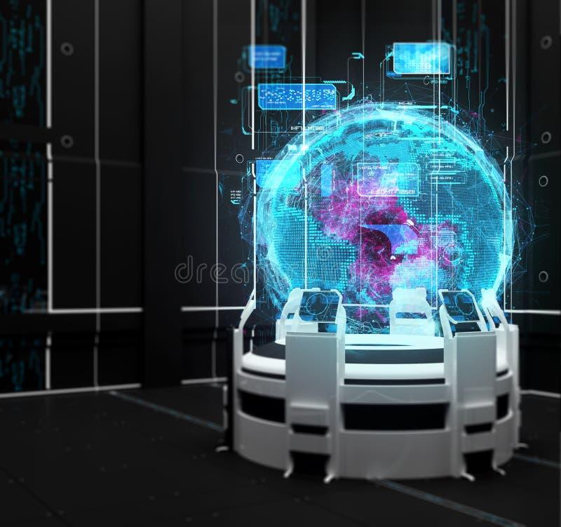3d rinden Investigación científica Futuro y tecnología foto de archivo