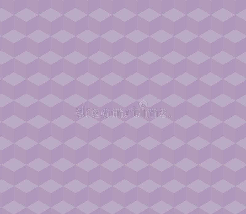 3d rinden los cubos isométricos foto de archivo