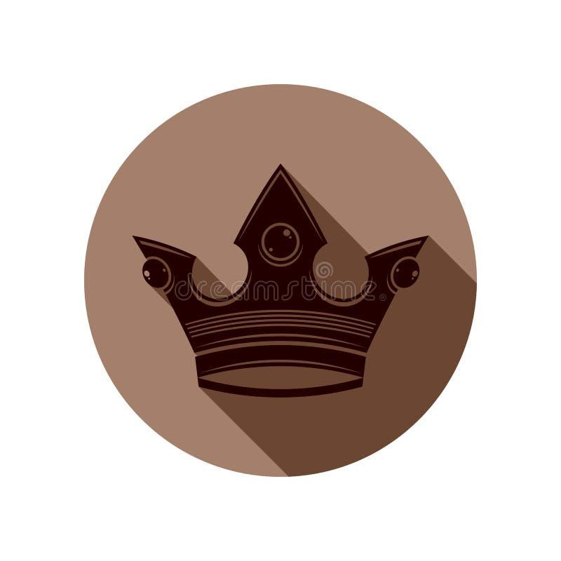 3d rocznika korona, luksusowa coronet ilustracja Klasyczny imperiał royalty ilustracja