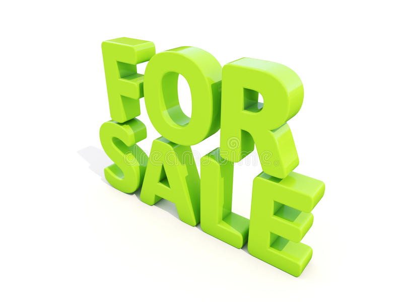 Download 3d For sale stock image. Image of closeout, chaffer, sell - 39370063