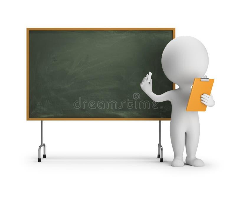 Download 3d Small People - Blackboard Stock Illustration - Illustration of chalkboard, classroom: 84584953