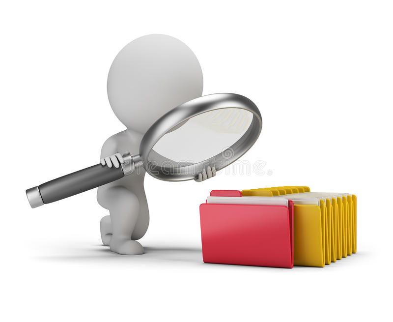 Download 3d Small People - Search Documents Stock Illustration - Image: 73422128