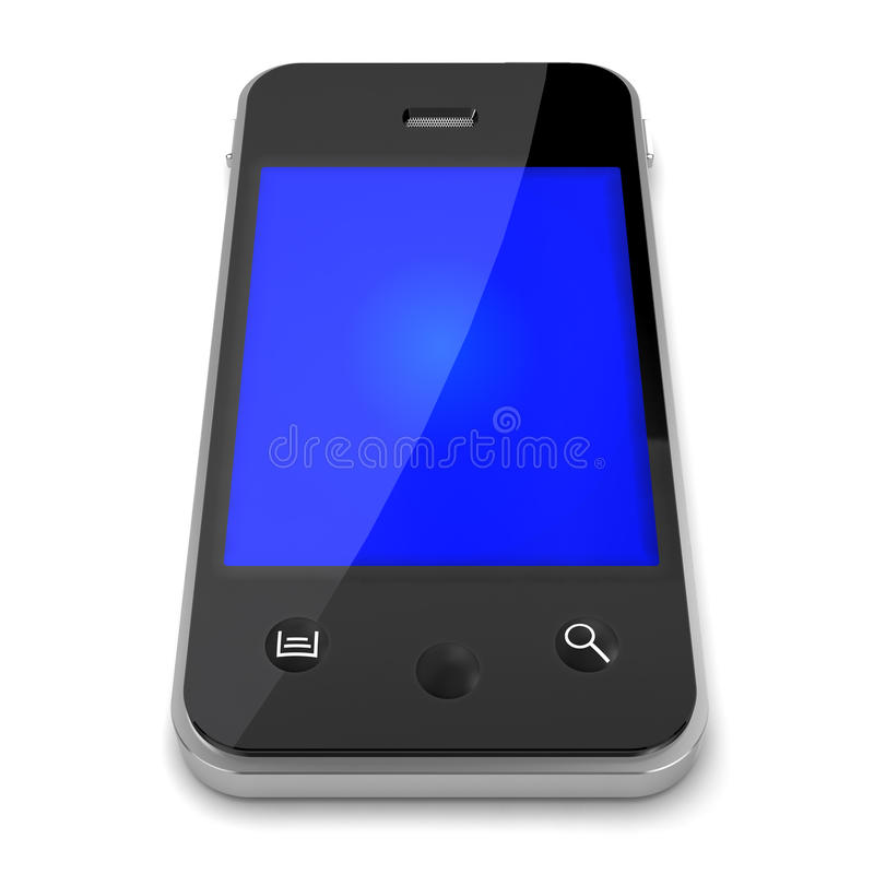 3d Smartphone ilustracji