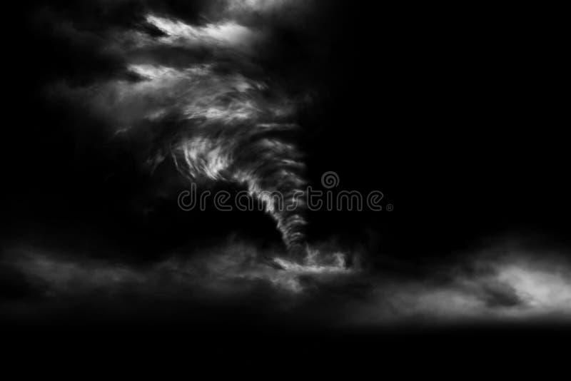 3D som framför den stora stormen för A, producerade en tromb royaltyfri foto