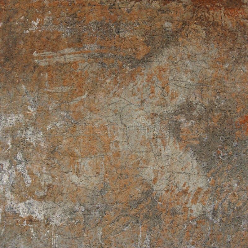 3d sottraggono la parete incrinata di lerciume con l'incrocio nascosto illustrazione di stock